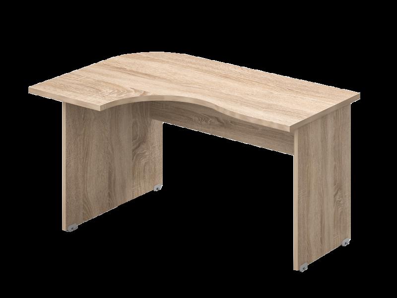 L-alakú íróasztal, GC-160-J/B
