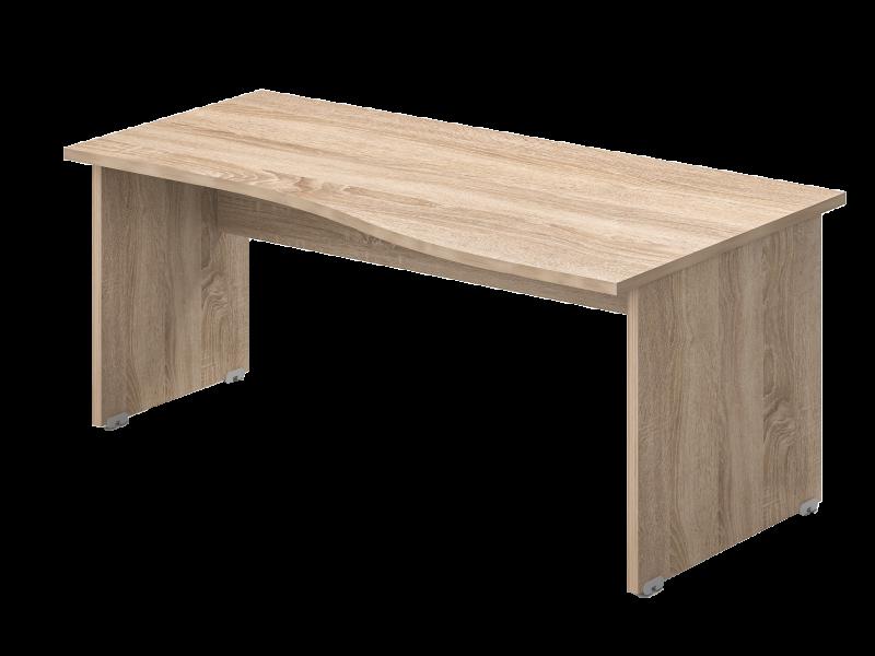 Íves íróasztal, GN-180-J/B