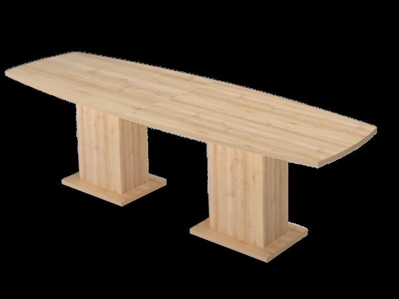 Íves nagy tárgyalóasztal, TBK-320