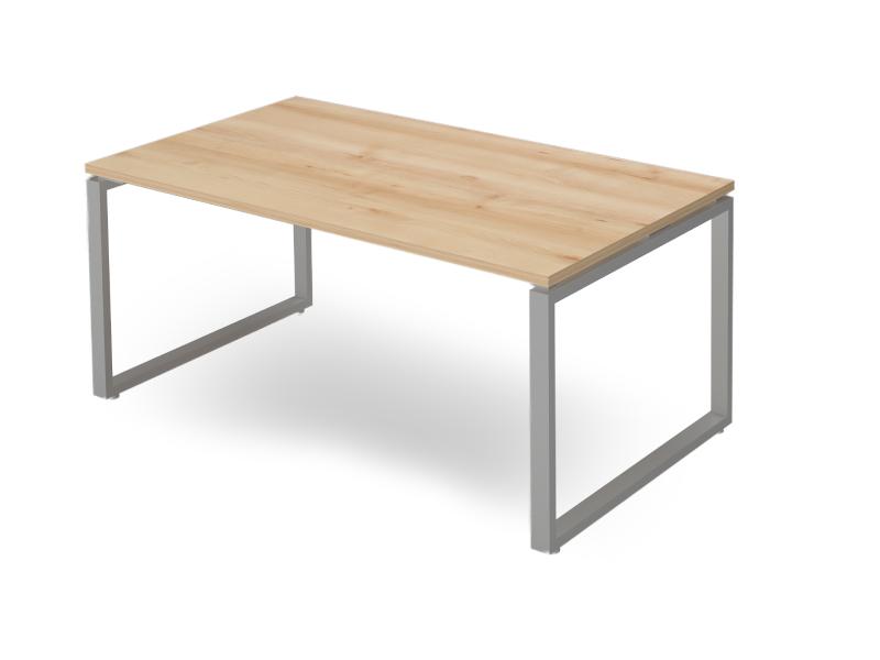 Vezetői íróasztal FL2 fémlábbal, IS-FL2
