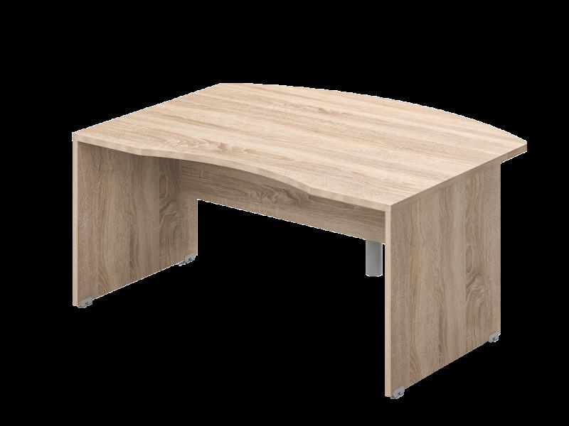 L-alakú Íves vezetői íróasztal, VQ-LHE