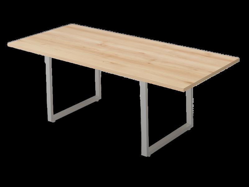 Szögletes nagy tárgyalóasztal, TC-238-FL2