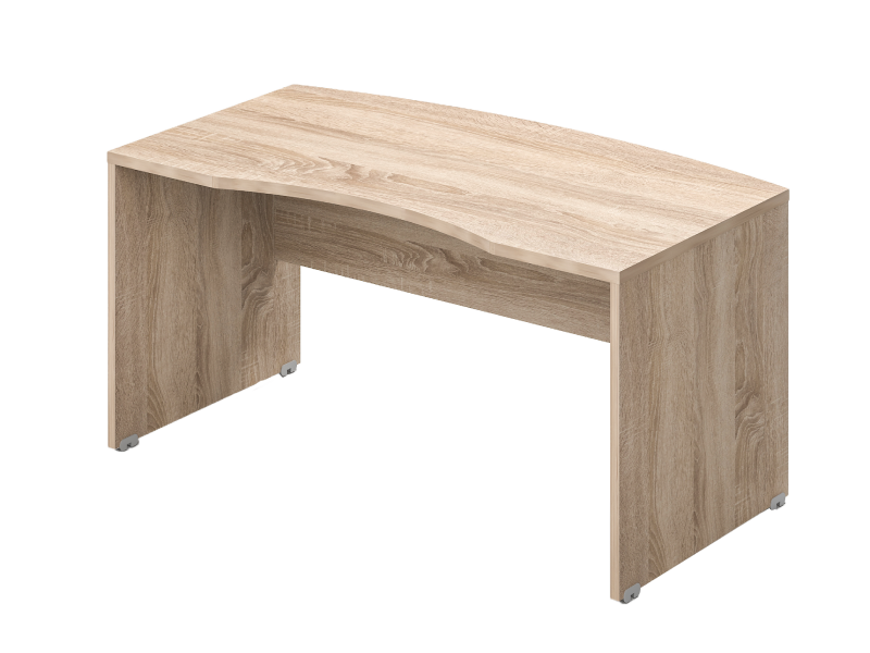 Íves vezetői íróasztal, VA-180
