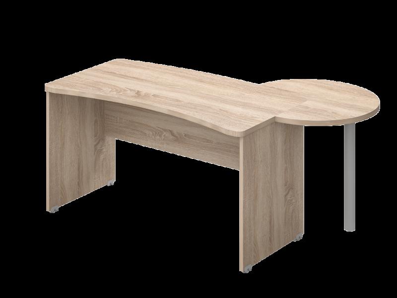 Íves vezető asztal, VD-TA