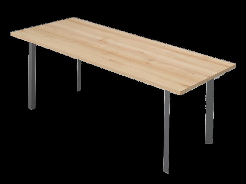 Szögletes nagy tárgyalóasztal, TC-238-FL3