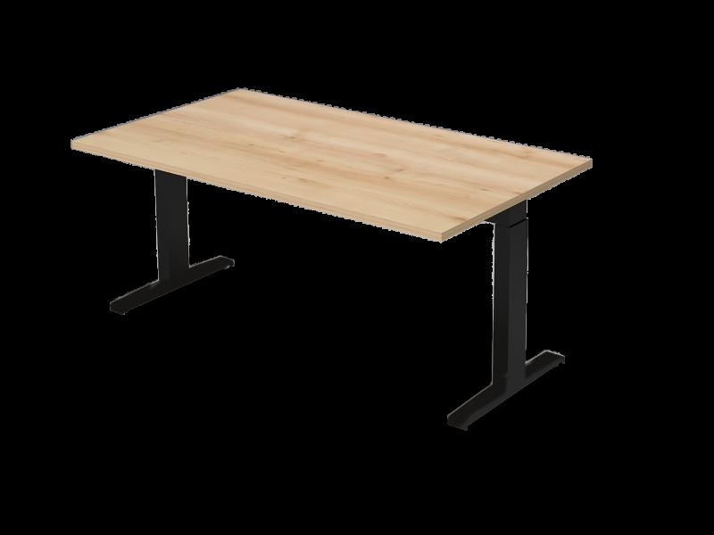 Állítható vezetői íróasztal FL7 fémlábbal, IS-FL7