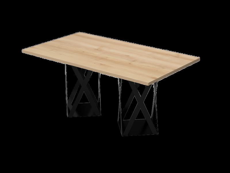 Szögletes tárgyalóasztal, TC-178-FL8
