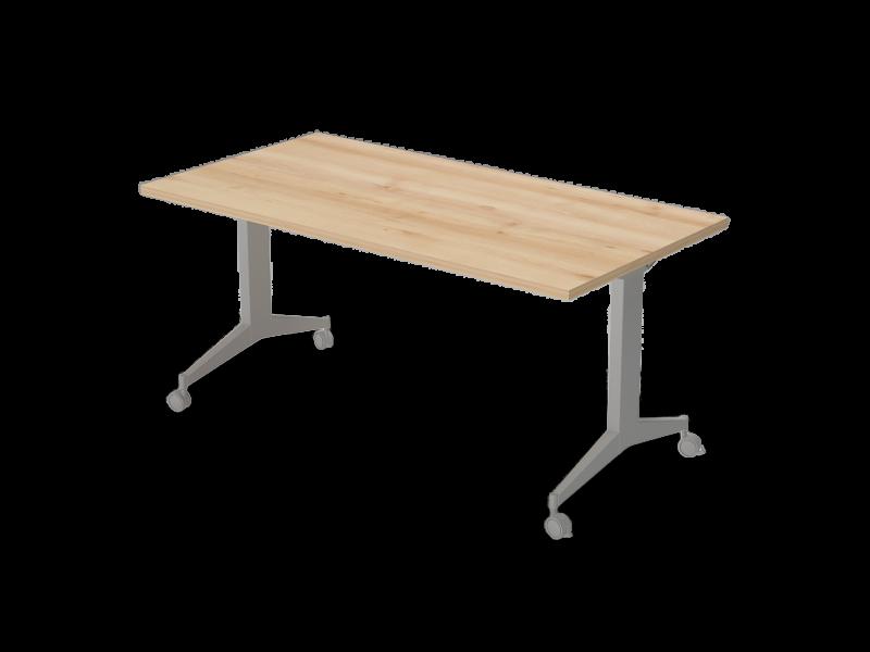 Íróasztal FL9 fémlábbal, IS-FL9