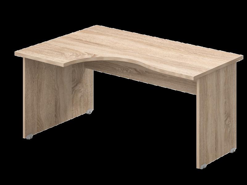 L-alakú íróasztal, GB-160-J/B