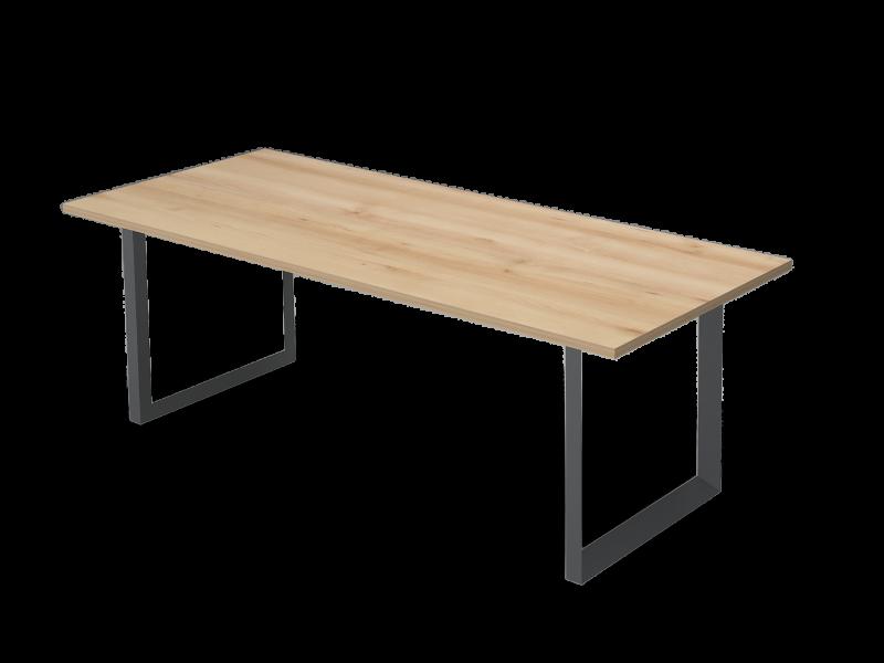 Szögletes nagy tárgyalóasztal, TC-238-FL11