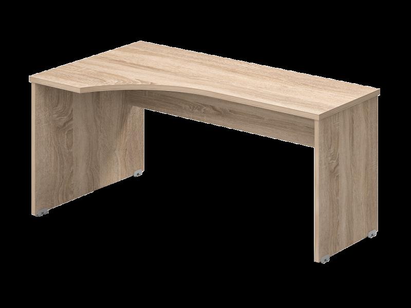 L-alakú íróasztal, GA-160/102-J/B