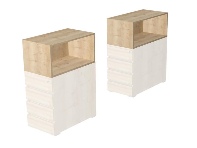 Rátét szekrény asztalmagas konténerekre, EX-KRSZ