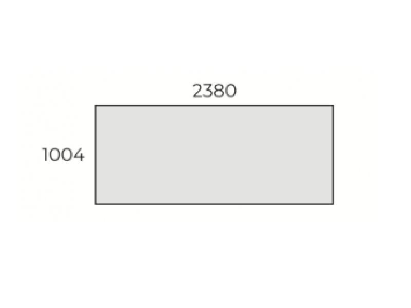 Állítható szögletes nagy tárgyalóasztal, TC-238-FL7