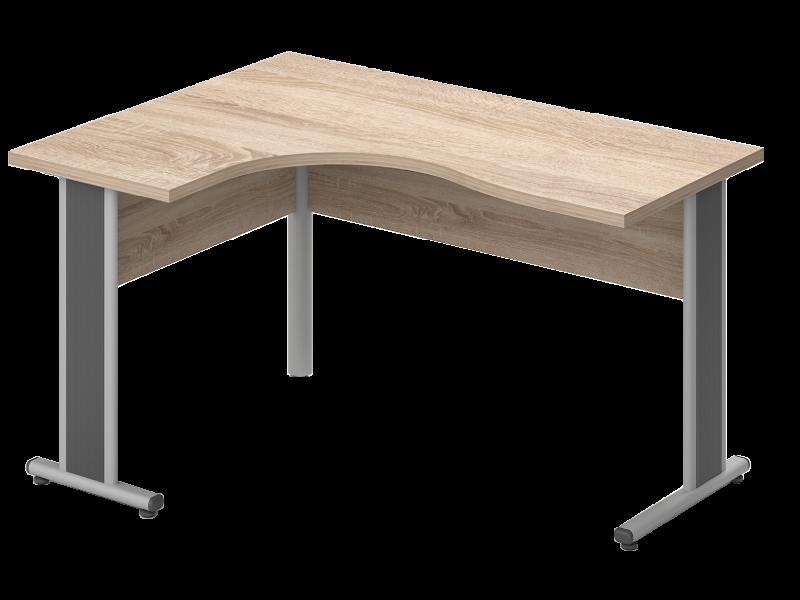 Sarkos L-alakú íróasztal, GB-180-AVA