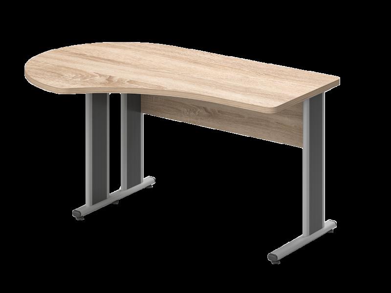 Kerekített íves íróasztal, GG-180-AVA