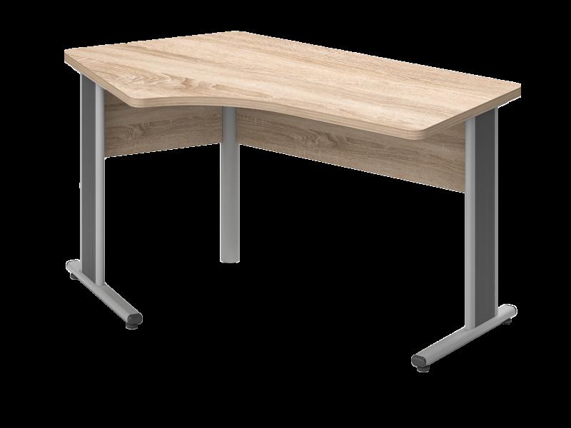 Kerekített íves L-alakú íróasztal, GZ-180-AVA