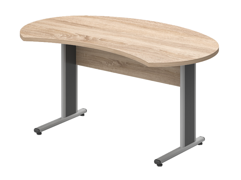 Íves vezetői íróasztal, IG-180-AVA