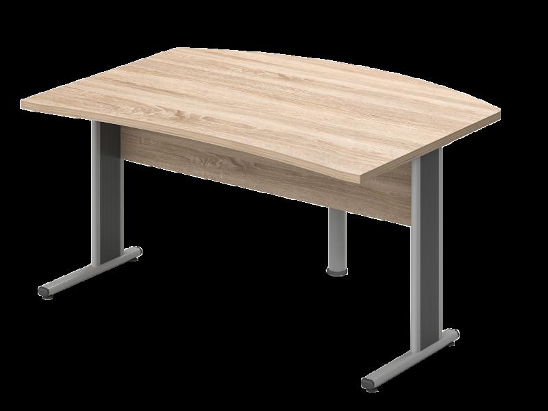 Íves vezetői íróasztal, VP-LHE-AVA