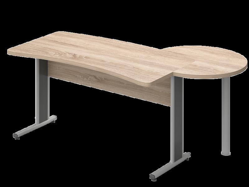 Íves vezetői íróasztal, VD-TA-AVA
