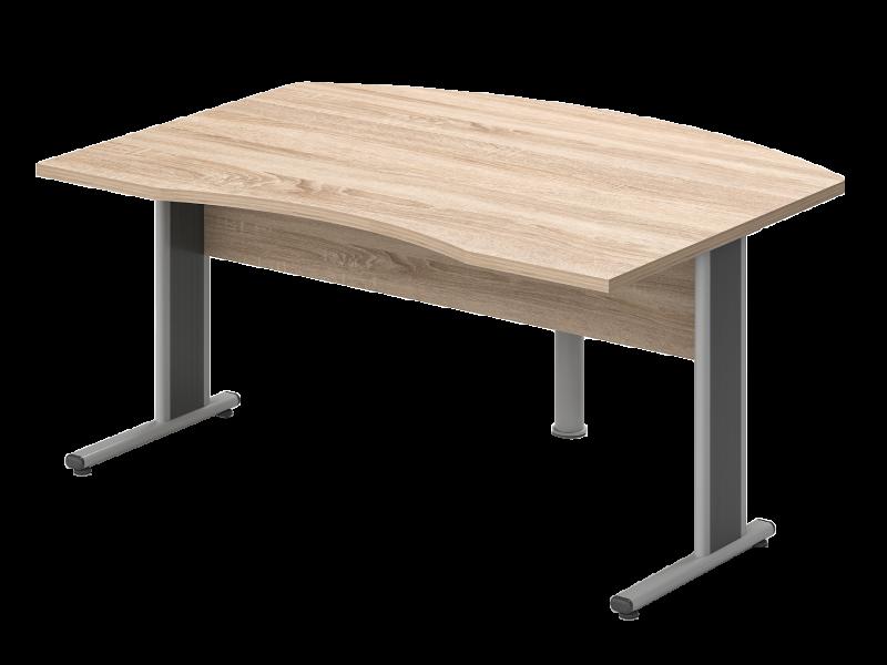 Íves vezetői íróasztal, VO-LHE-AVA