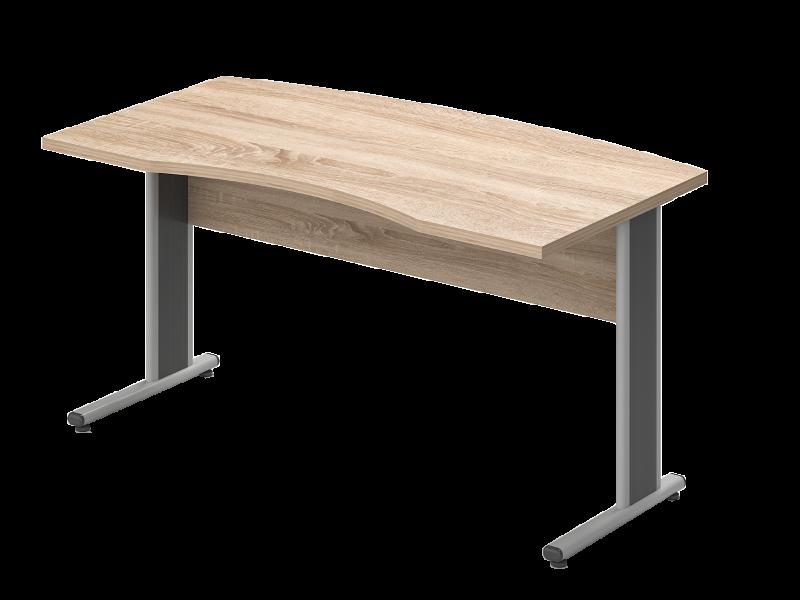 Íves vezetői íróasztal, VA-180/100-AVA