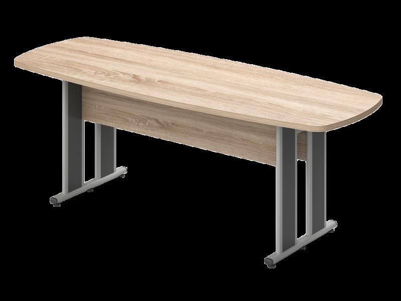 Íves nagy tárgyalóasztal, TSZ-260-AVA