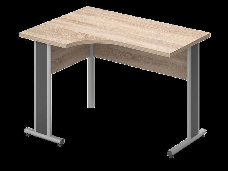 Sarkos L-alakú íróasztal, GA-AVA