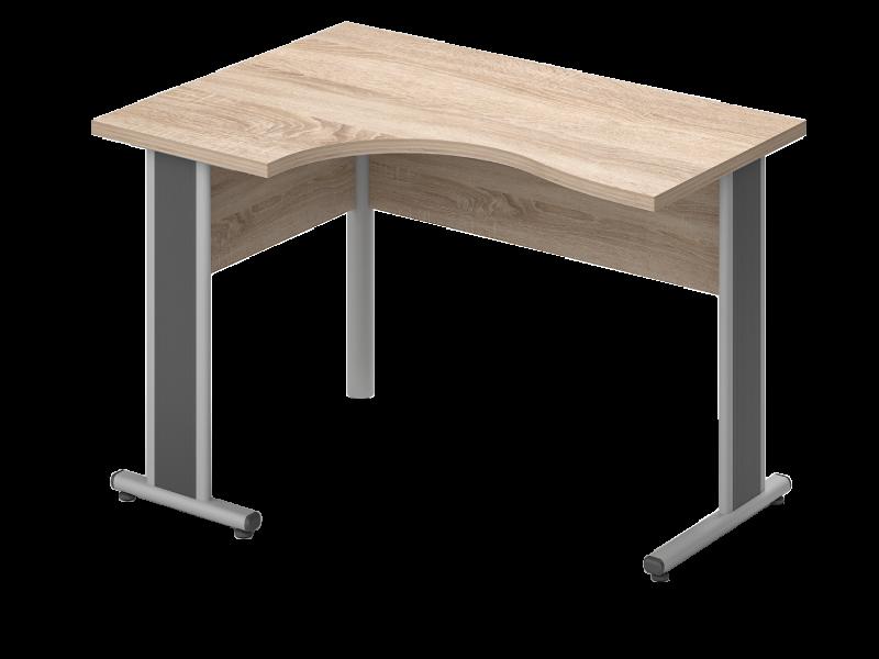 Sarkos L-alakú íróasztal, GB-160-AVA