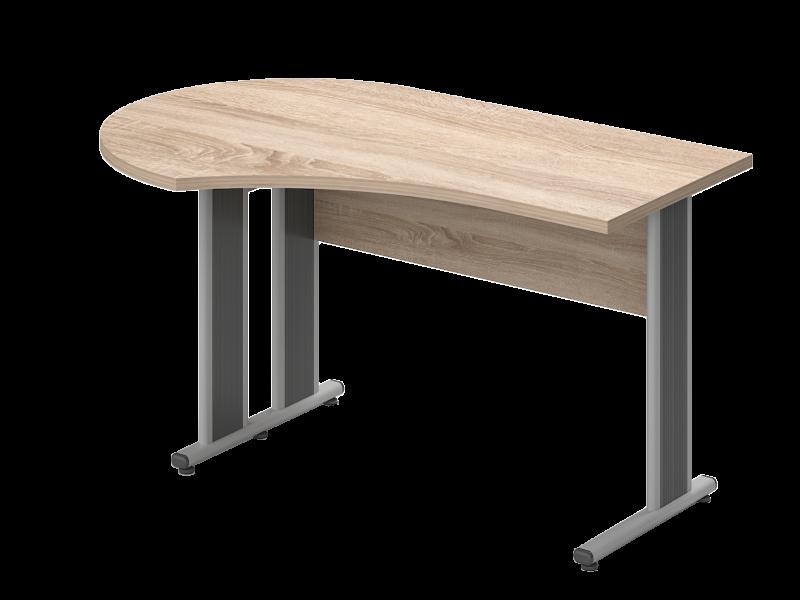 Sarkos íves íróasztal, GF-160-AVA