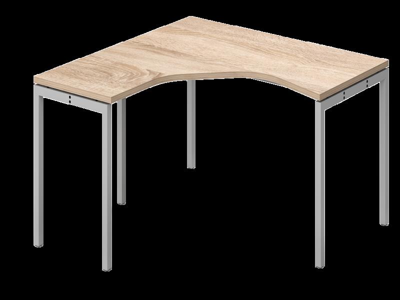 L alakú íróasztal homloklappal, GS-160-HL-COR