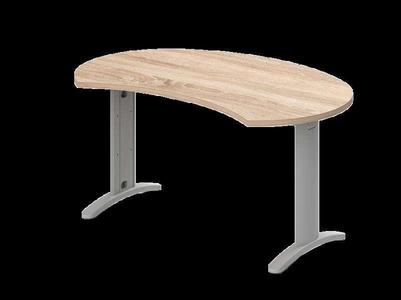 Íves vezetői íróasztal, IG-LUX