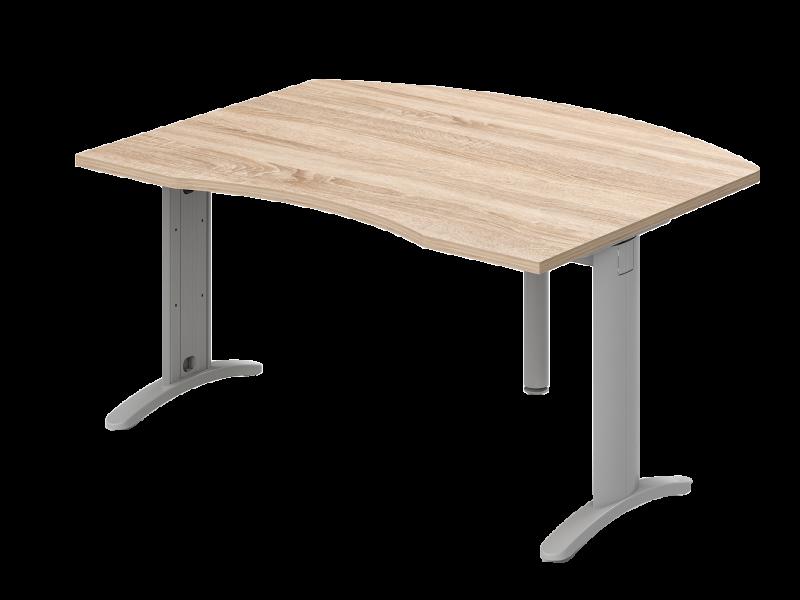 Íves vezetői íróasztal, VO-LHE-LUX