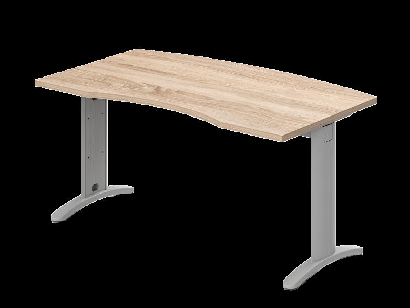 Íves vezetői íróasztal, VA-LUX
