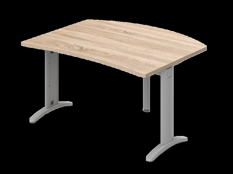 Íves vezetői íróasztal, VP-LHE-LUX