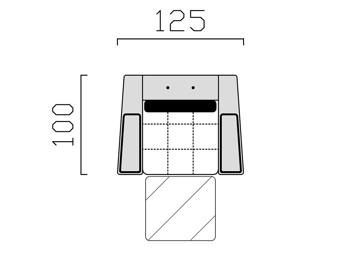 Modern ülőgarnitúra, Manhattan