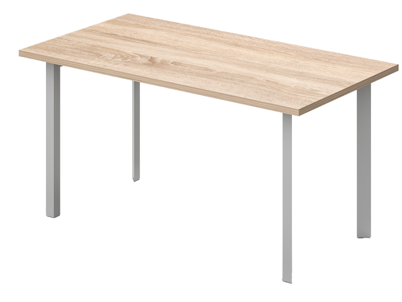 Szögeletes tárgyalóasztal, TA-100-S-TR