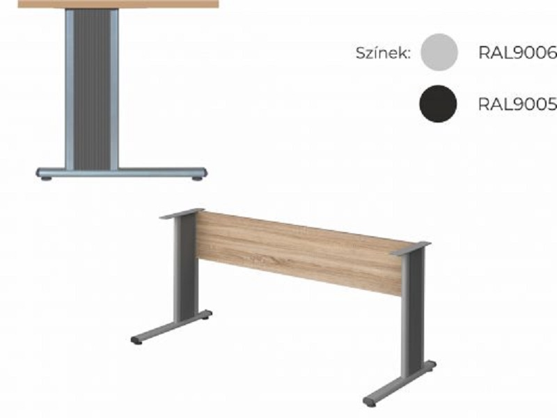Szögletes tárgyalóasztal, TA-S-AVA